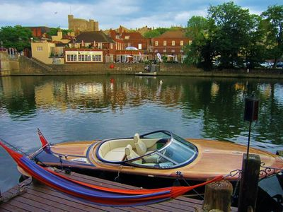 Be a stone's throw from the Royal Wedding - on the river in Eton, Windsor!
