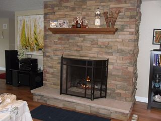 Coloma house photo - Fireplace