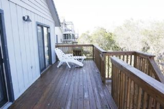 Oak Island house photo - Front deck 2