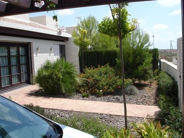 Front Garden and Car Port