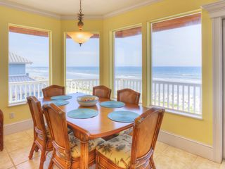 Summer Haven house photo - 3rd floor dining area with sweeping ocean views.