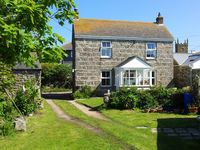 At the very end of Cornwall , charming fishermans cottage