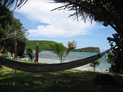 Grenada's best sited hammock!