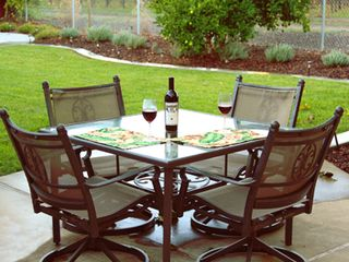 Napa house photo - Enjoy a glass of wine on the patio with beautiful views.