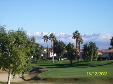 La Quinta condo rental - View of the Chocolate Mountains from the balcony