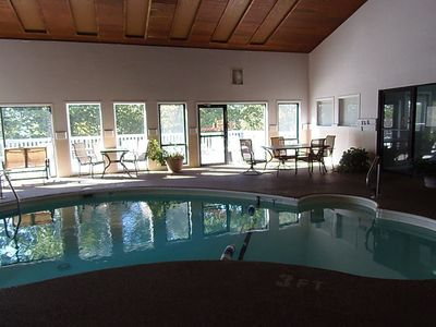 Indoor Pool and Two Hot Tubs