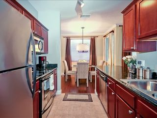 Kierland Scottsdale condo photo - European styled kitchen with granite counter-tops