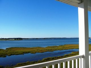 Fenwick Island townhome photo - Enjoy the Beautiful Little Assawoman Bay while relaxing on our Balconies