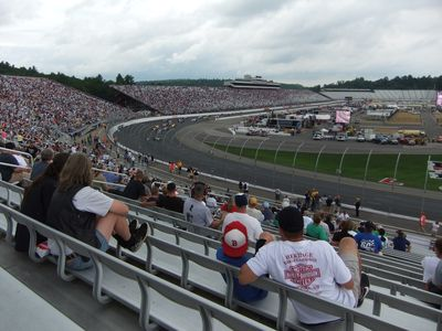 Nearby NHMS race day