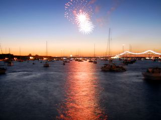 Middletown house photo - Newport Harbor on the 4th of July