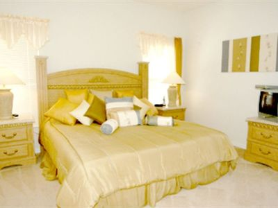 Master En-Suite Bedroom 1, beautifully furnished with King sized bed