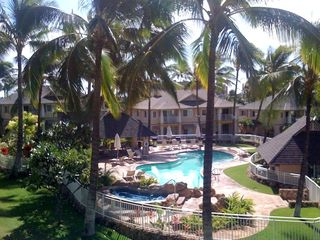 Ko Olina condo photo - Actual View of Pool from Lanai