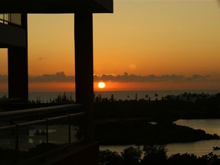 Pointe Pirouette condo photo - Beautiful sunset