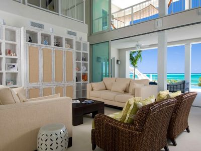 Providenciales - Provo villa rental - Great Room