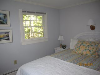 Queen Bedroom #2 with half bath - Wellfleet house vacation rental photo