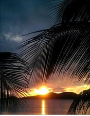 Culebra cottage photo - Sunset from Casa Yaboa