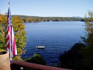 Lake Winnisquam house photo - View from deck