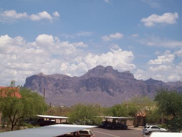 Apache Junction condo rental - Daytime view from patio