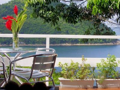 HOUSE WITH VIEW TO THE BEACH AND THE OCEAN -2 Suites- CONDOMINIUM 24 HRS.