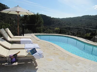 Luxurious Romantic Villa, south facing pool/terrace, breathtaking views,aircon