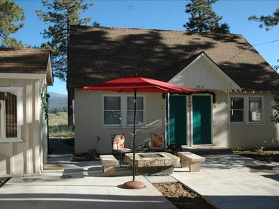 The lodge with close access to Big Bear Lake.
