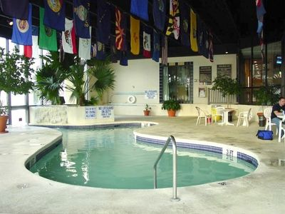 Indoor Heated Pool Near Resort Restaurant and Bar