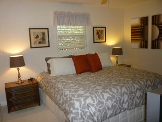 Lake Toxaway cottage photo - Guest Bedroom Main Level King Bed Flat Screen TV