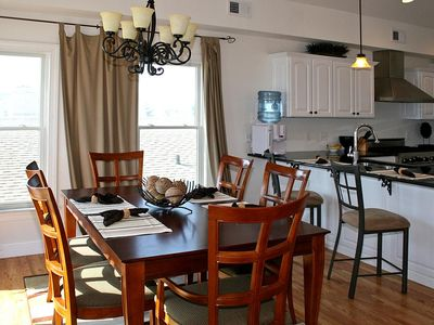 Brant Beach house rental - Dining Area