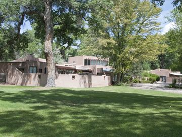 Albuquerque house rental - Rambling adobe hacienda on 3 acres in Corrales.