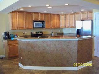 Oceans Mist Ocean City condo photo - Gourmet Kitchen is equipt and ready for use.