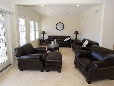 Seaside Heights townhome rental - living room