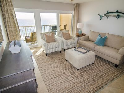BRAND NEW EVERYTHING! Direct Beachfront with Gulf Front Pool & More!