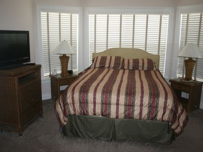 "Flagler Beach house rental - Queen size suite with 42"" HDTV and 250 channels."