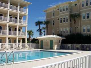 Seacrest Beach villa photo - Sunset Beach gulf front swimming pool