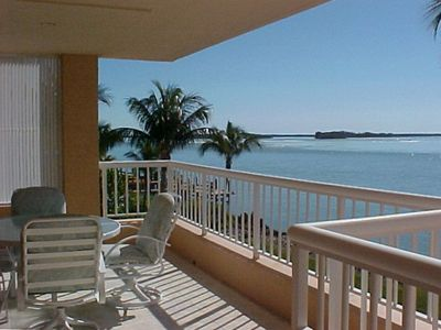 Watch the dolphins and pelicans play just off your large private lanai