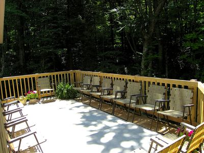 Mountain Lodge Realty Beech Mountain Lodge Sun Deck