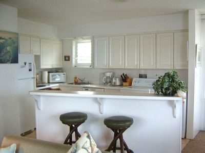 A wonderful fully equipped kitchen to test your culinary arts.