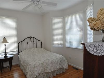 full size bed in lovely private room with jack/jill bathroom