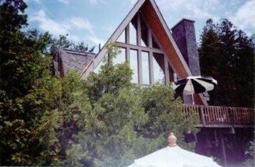 Harbor Springs house rental - Upper Deck View to the Lake