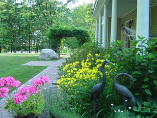 New Paltz house photo - front walkway