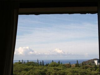 Makaha condo photo - Ocean view from Living/dining room.