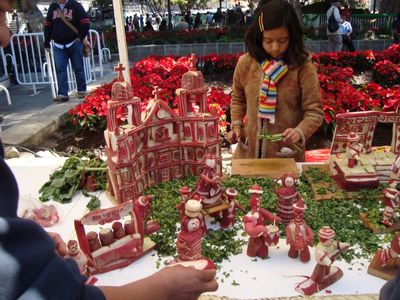 Radish Festival @ Downtown Oaxaca, December 23rd