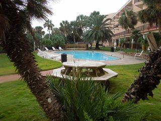 Galveston condo photo - Enjoy a BBQ or picnic by the East Pool