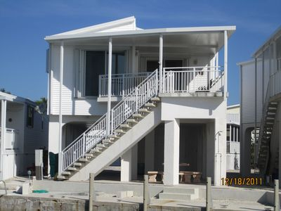 Cudjoe Key house rental - view from back of house