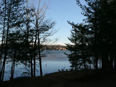 View Of Lake From The Point Area