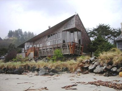Lincoln City house rental - Right on the sand!