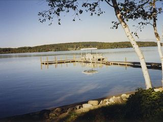 Large Dock For Fishing, Boating & Swimming - Walloon Lake cottage vacation rental photo