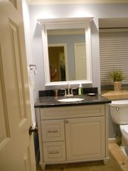 Shipyard villa photo - New Granite counter top on our new white vanity