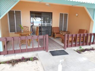 Negril cottage photo - Beachfront Veranda suite balcony