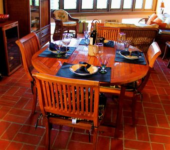 Fine dinning for 6 in your Villa